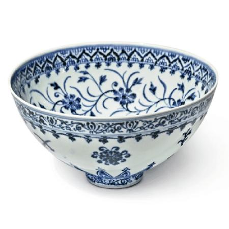"""Artefato de porcelana é o único conhecido nos EUA - Divulgação/Sotheby""""s"""