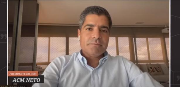 UOL Entrevista   Está descartado apoio do DEM à eventual candidatura de Doria em 2022, diz ACM Neto