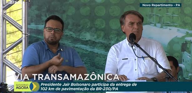No Pará, Bolsonaro diz que 'CPI da Mentira' não derrubará o governo