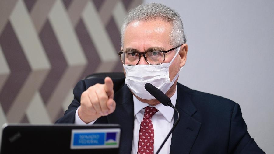 O senador Renan Calheiros (MDB-AL), relator da CPI da Covid - Pedro França/Agência Senado
