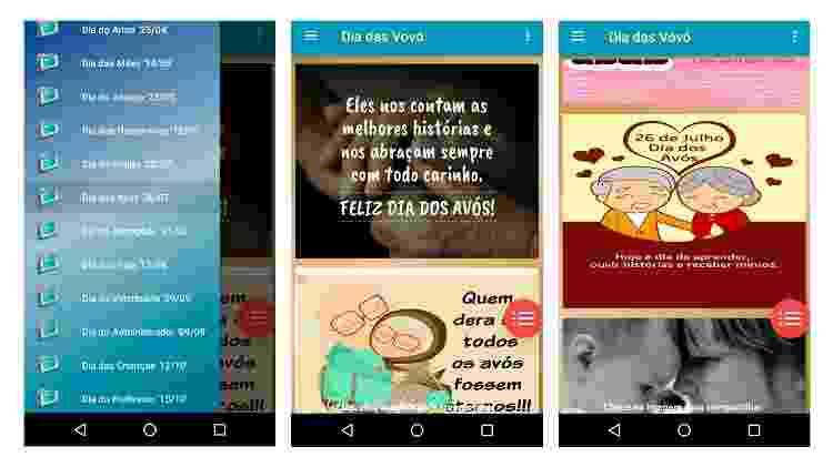 App para fazer mensagem para Dia dos Avós (Android) 1 - Reprodução - Reprodução