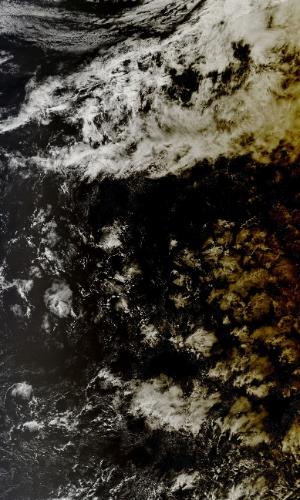 ECLIPSE VISTO DE CIMA - A Nasa (Agência Espacial Norte-Americana) divulgou uma foto que mostra como a Terra fica na passagem de um eclipse solar. A fotografia foi tirada pelo satélite Aqua e registra o movimento do eclipse pelo sul do Oceana Pacífico. Nesta quarta, um eclipse foi observado no sudeste asiático e até em partes dos Alasca