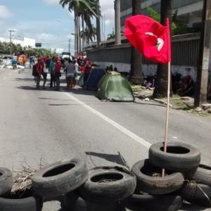 A invasão do MST tem por objetivo reivindicar desapropriações de terras para reforma agrária no Ceará
