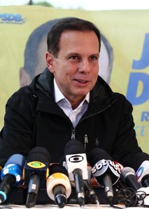 O prefeito eleito João Doria (PSDB)