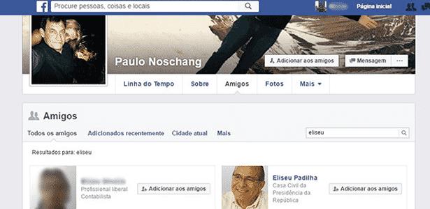 Padilha e Paulo Noschang - Reprodução/Facebook - Reprodução/Facebook