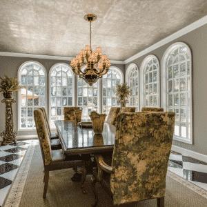 A clássica de coração da sala de jantar - Divulgação