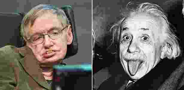 Contribuições de Hawking o levaram a ser comparado a gênios como Albert Einstein - Reprodução