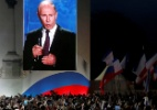 Às vésperas de eleições, sanções à Rússia ajudam Putin a fortalecer seu poder - Maxim Shemetov/Reuters