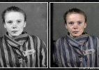 Brasileira viraliza com foto colorida de jovem de 14 anos em campo de concentração - Marina Amaral/via DeutscheWelle