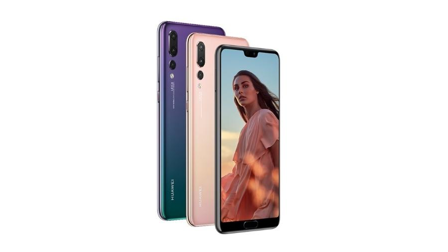 Huawei P20, do ano passado, foi um dos responsáveis pelo recorde de vendas da chinesa - Reprodução