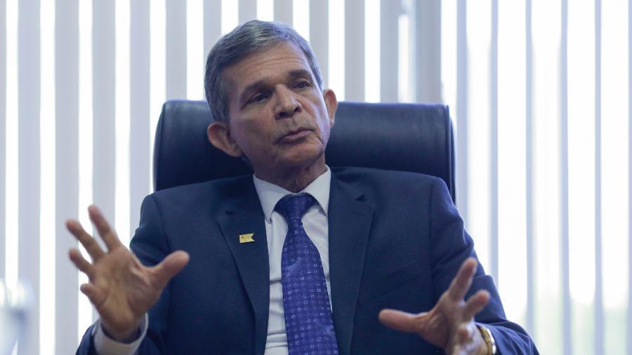 26.set.2018 - O ministro da Defesa Joaquim Silva e Luna durante entrevista ao UOL - Kleyton Amorim/UOL