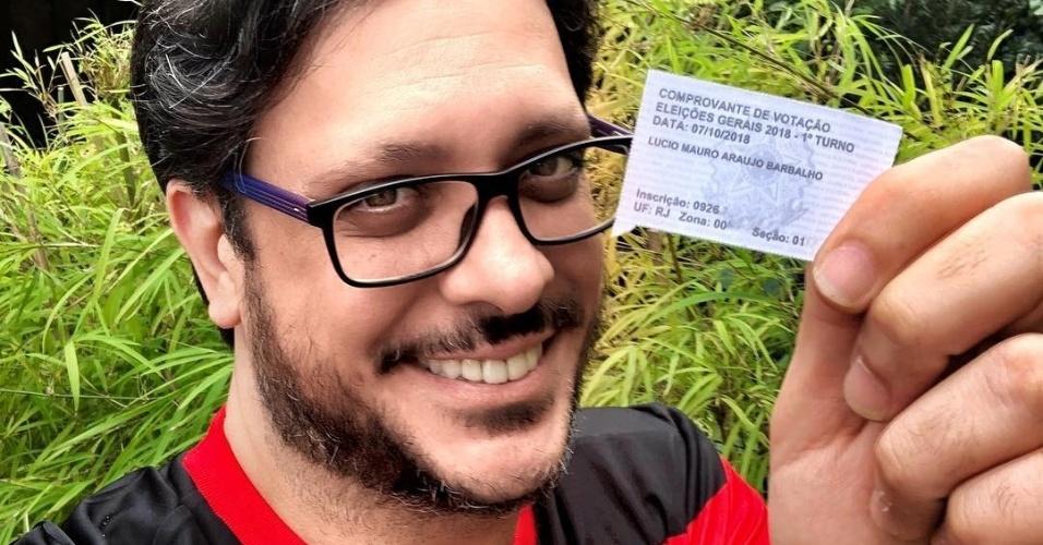 """""""Viva a democracia! Bom voto para todos!"""", diz Lúcio Mauro Filho"""