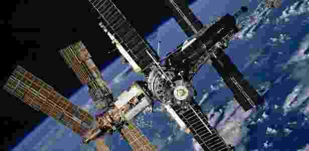 A estação espacial de Mir - Nasa/NYT