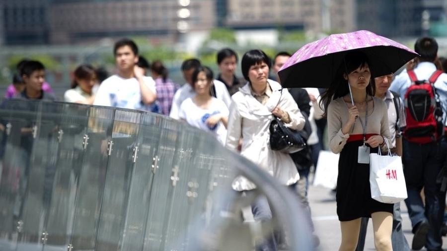Para muitos jovens chineses, ter filho não é prioridade - Getty Images