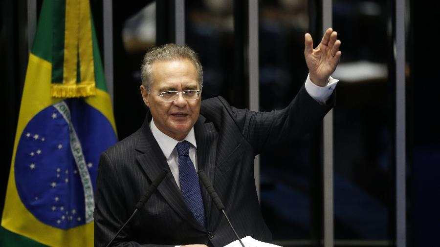 O senador Renan Calheiros (MDB-AL) fez tweet desrespeitando jornalista - DIDA SAMPAIO/ESTADÃO CONTEÚDO