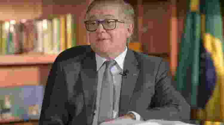 O ministro da Educação, Ricardo Vélez Rodríguez - Reprodução/Youtube