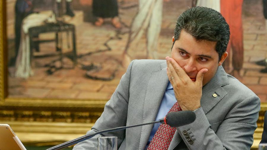 Marcos Rogério é um dos governistas na CPI da Covid - Pedro Ladeira/Folhapress
