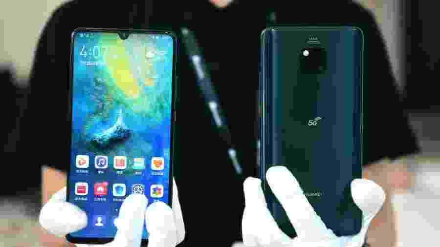 Com tecnologia 5G, Mate 20 X chega ao mercado chinês custando cerca de 900 dólares - Xinhua/Mao Siqian