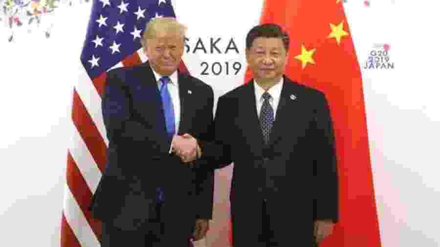 Estados Unidos e China estão imersos em uma guerra comercial - Getty Images