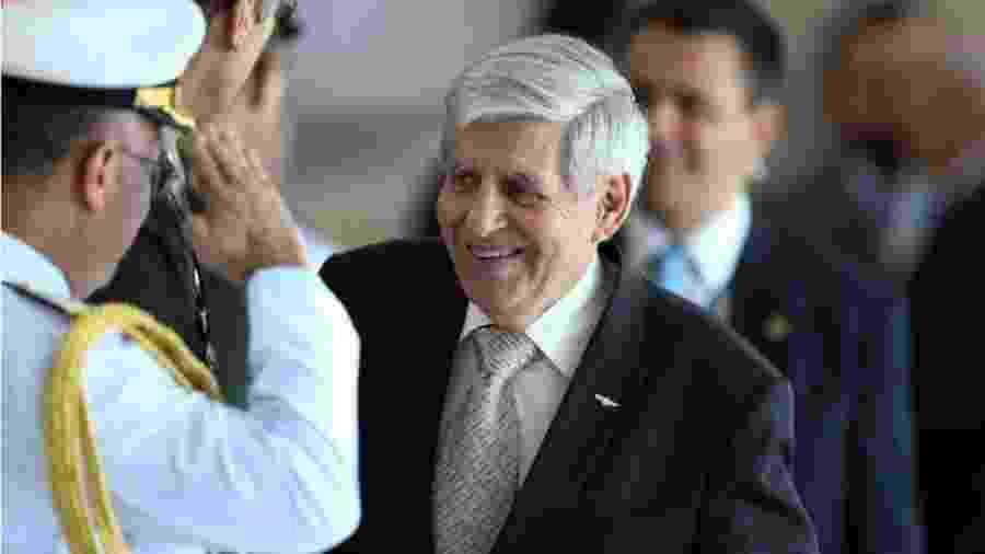 General Heleno, chefe do GSI, é autor da fagulha original que transformou manifestação em favor de Bolsonaro em ato contra o Congresso e o Supremo - Pedro Ladeira/Folhapress