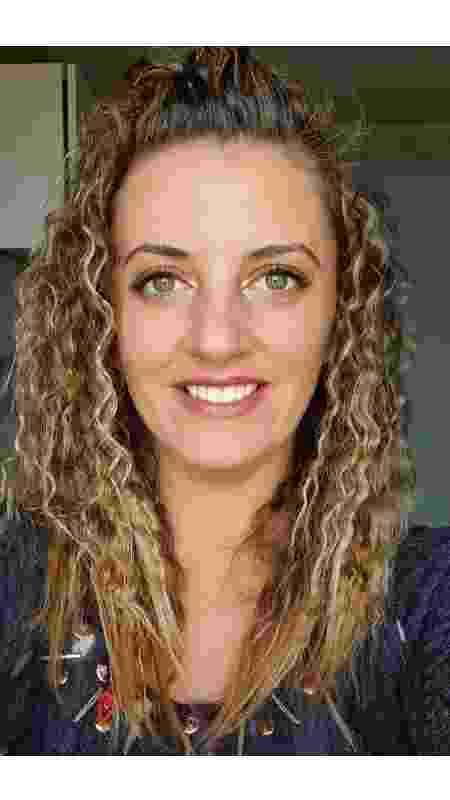 Professora italiana Vanessa agora dá aulas 100% virtuais já que precisa evitar sair de casa - Arquivo pessoal