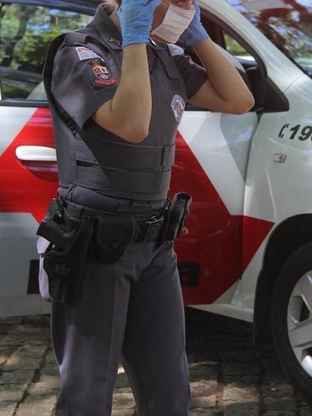 Foto ilustrativa, pois a personagem da matéria pediu para não ser identificada - Divulgação/PM-SP