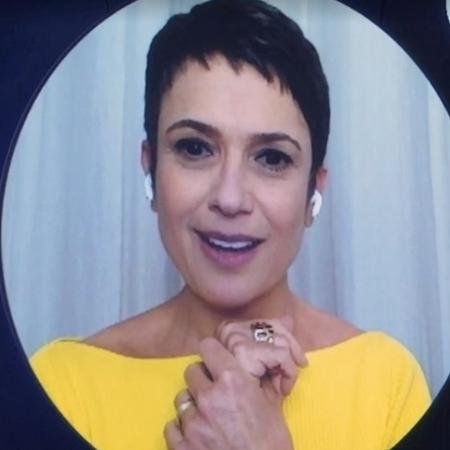 """Sandra Annenberg no """"Que História É Essa, Porchat?"""" - Reprodução/vídeo"""