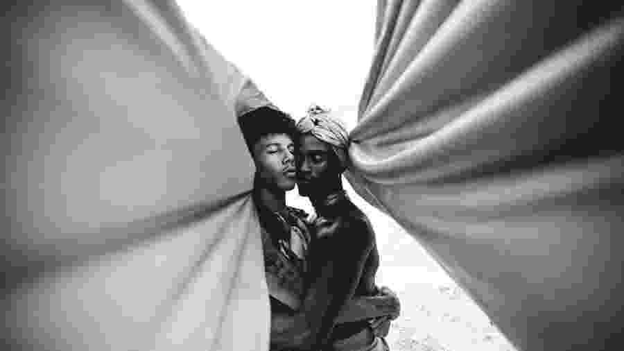 Foto vencedora da série Afrocentrípeta, de Matheus Leite, em concurso internacional de fotografia da Sony - Matheus L8