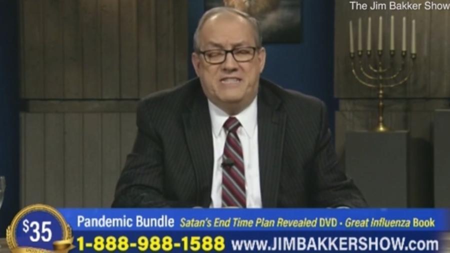 Irvin Baxter tinha 75 anos e era ligado aos pentecostalistas unicistas - The Jim Bakker Show/Reprodução