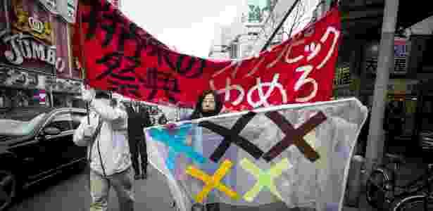 Manifestos contra a realização dos Jogos Olímpicos de 2020 em Tóquio, no Japão, datam desde 2016 - Alessandro Di Ciommo/Brazil Photo Press/Ag. O Globo