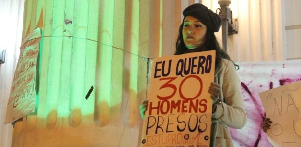 Estupro coletivo contra menor no Rio provocou debates em todo o país - Rodrigo Félix/Futura Press/Estadão Conteúdo