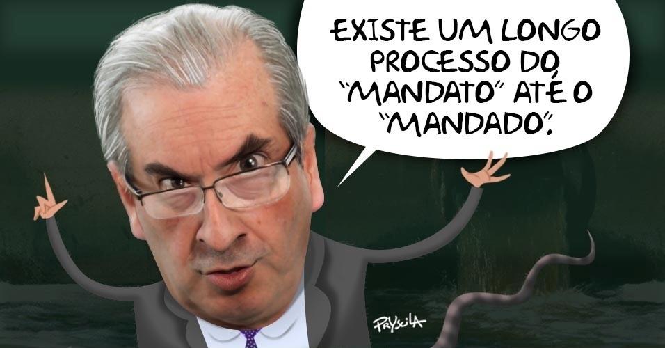16.jun.2016 - Conselho de Ética da Câmara aprovou parecer pela cassação de Eduardo Cunha após 8 meses de reviravoltas, mas o deputado ainda vê longo processo pela frente