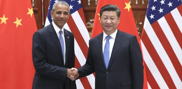 Obama se encontrou com presidente chinês Xi Jinping antes da cúpula do G20