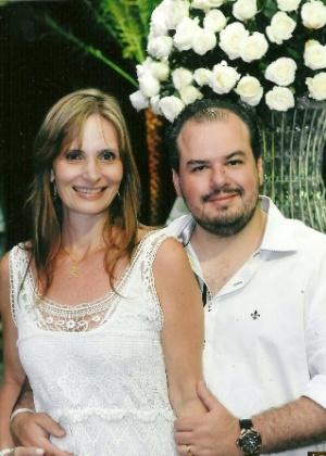 O casal Claudia Zerati e Cristian Sant'Ana Lanfredi