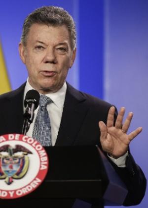 Juan Manuel Santos assumiu a presidência da Colômbia em 2010 - Jhon Paz/Xinhua