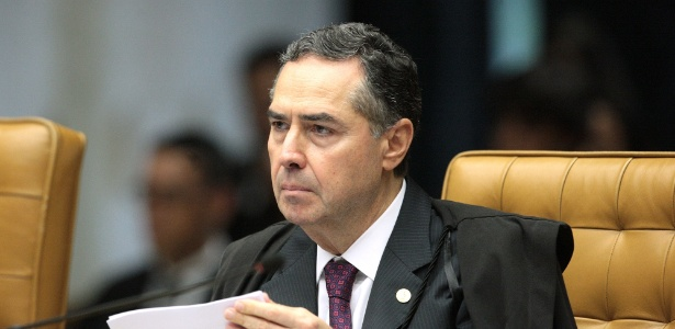 4.abr.2018 - Ministro Luís Roberto Barroso - Carlos Moura/SCO/STF