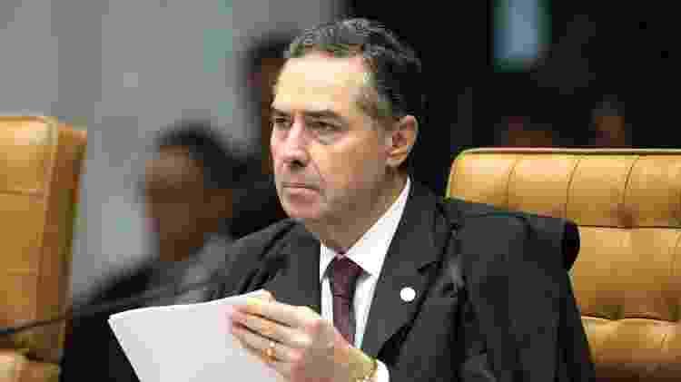O ministro do STF Luís Roberto Barroso  - Carlos Moura/SCO/STF