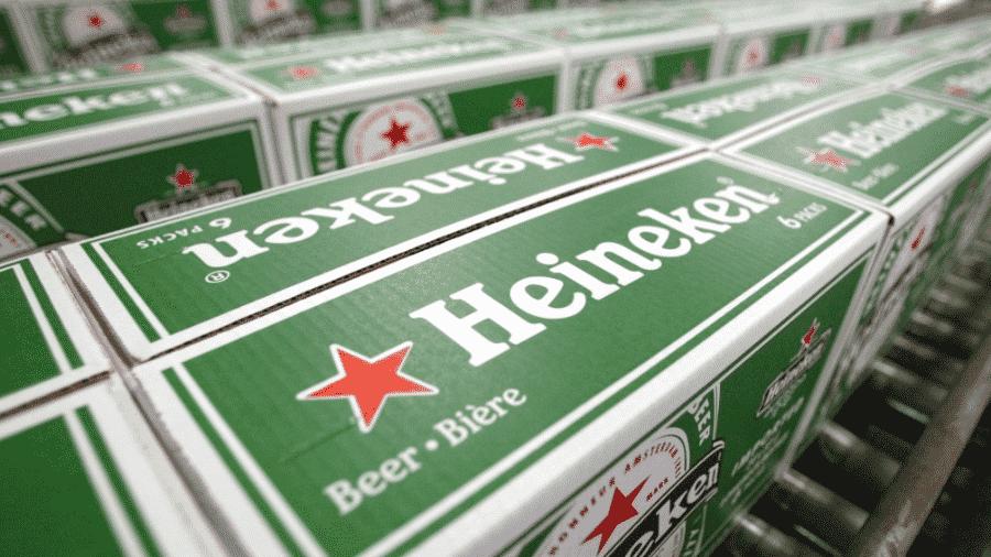 A Heineken não revelou os percentuais de reajustes nem os produtos sujeitos a aumentos de preços - Rick Nederstigt/AFP