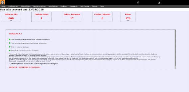 f6b3eb4a895 Tem até central do cliente  como funciona a loja falsa que dá golpes ...