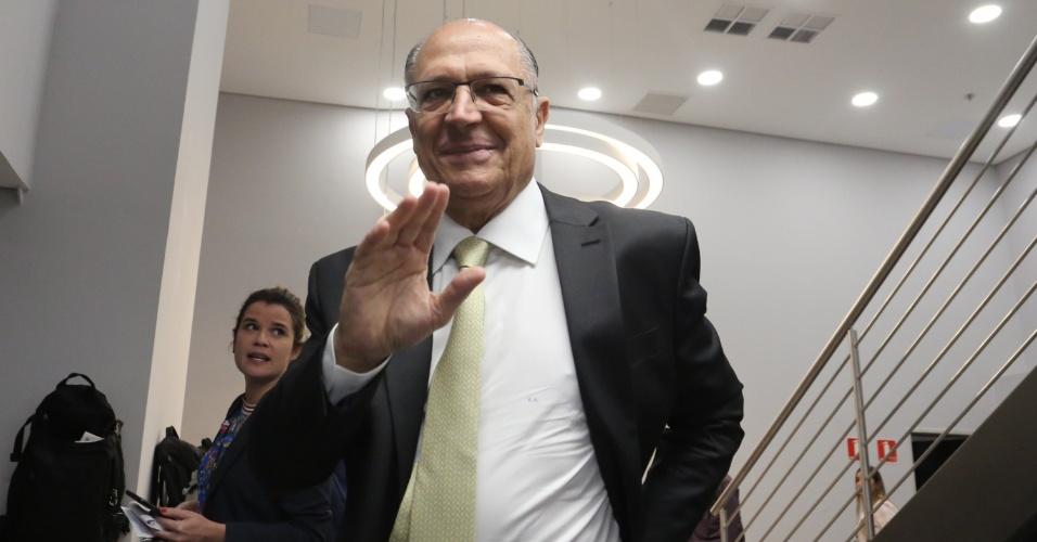 Geraldo Alckmin, candidato do PSDB à Presidência