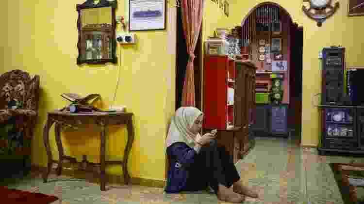 Incidente em escola deixou Siti incapaz de dormir ou comer adequadamente - Joshua Paul/BBC - Joshua Paul/BBC