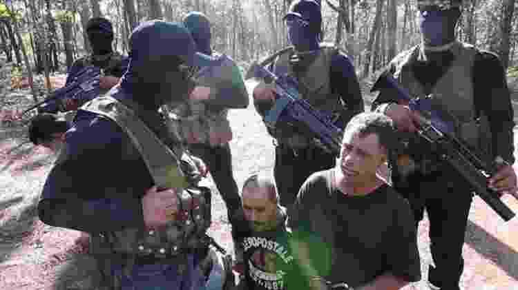 Violência e crueldade: integrantes do CJGN preparam-se para matar rivais - Reprodução
