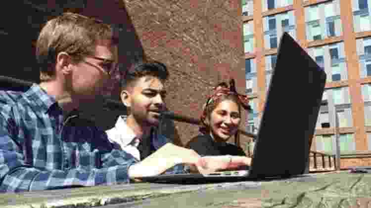 Os colegas da GrantTree são responsáveis por avaliar quanto devem ganhar - Granttree/BBC - Granttree/BBC