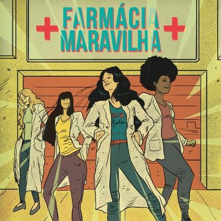 """""""Liana - Farmácia-Maravilha"""" é uma das histórias em quadrinhos lançadas pelo Sebrae - Divulgação/Sebrae"""