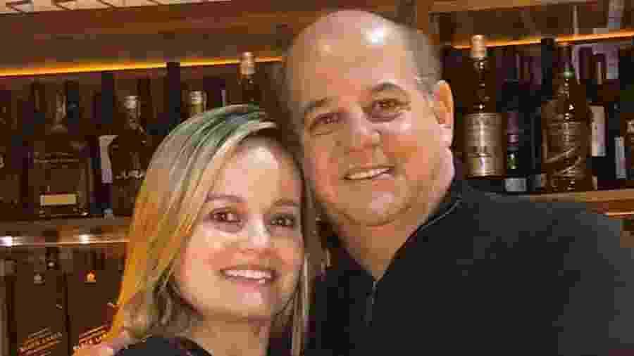 O dentista Ney Eduardo Vieira Martins e sua esposa, Taciana Maciel - Arquivo Pessoal