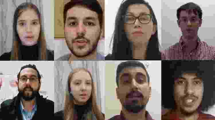 Brasileiros na China fazem vídeo pedindo que governo de Jair Bolsonaro os retirem de país afetado pelo surto do coronavírus - Reprodução/YouTube - Reprodução/YouTube