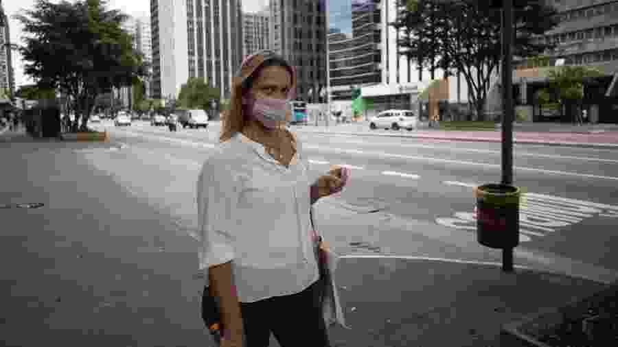 Movimento no centro de São Paulo durante a pandemia do novo coronavírus - Andre Porto/UOL