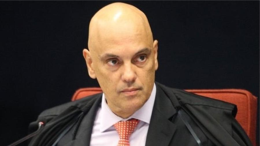 "O ministro Alexandre de Moraes: ""flagrante permanente"" - NELSON JR./SCO/STF"