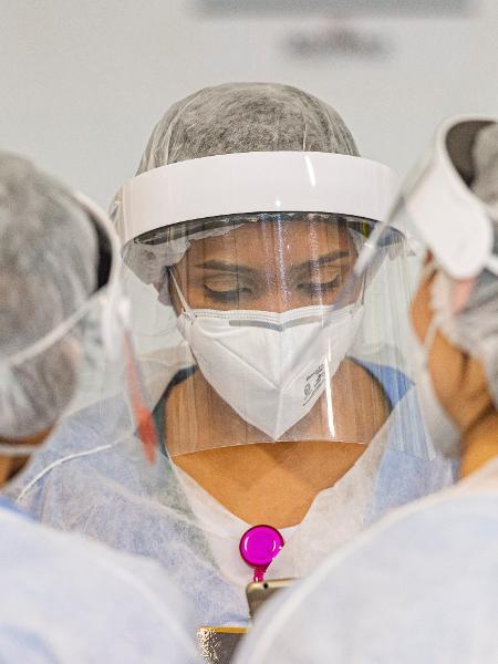Endereço tem recebido pacientes com covid-19 de cidades do interior de São Paulo - Anderson Lira/Framephoto/Estadão Conteúdo