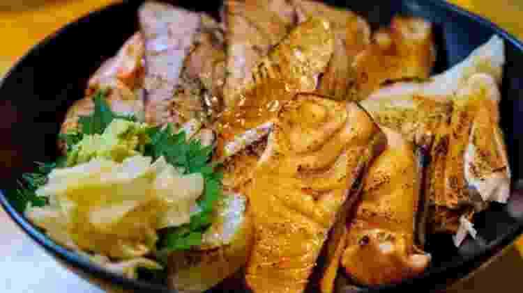 Peixe no lugar de carne, arroz no lugar de trigo é parte da chave da comida japonesa - Getty Images - Getty Images